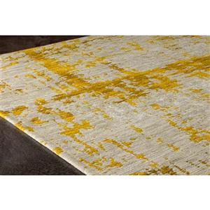 Kalora Cathedral Shabby Chic Rug - 5' x 8' - Cream