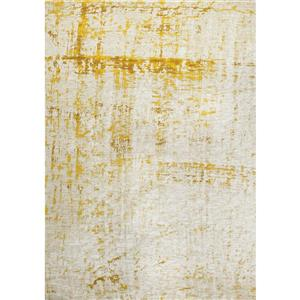 Cathedral Cream/Yellow Shabby Chic Rug