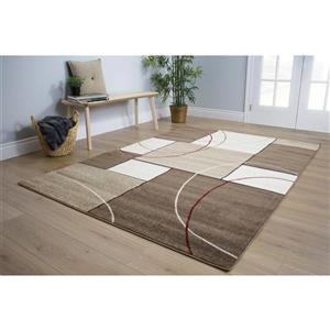 Kalora Casa Familiar Rug - 8' x 11' - Cream
