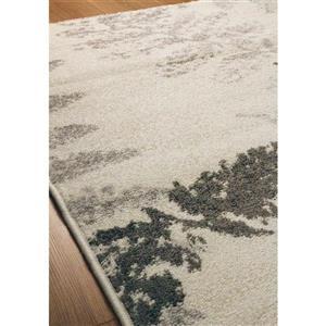 Kalora Camino Leaf Imprints Rug - 8' x 11' - Cream