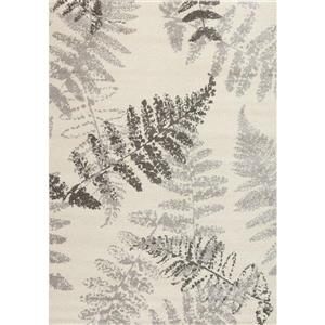 Camino Grey/Cream Wheat Area Rug