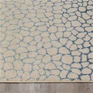 Kalora Camino Pebble Mosaic Rug - 8' x 11' - Blue