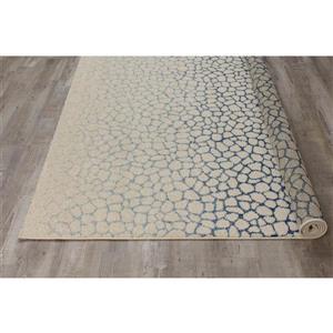 Kalora Camino Pebble Mosaic Rug - 5' x 8' - Blue