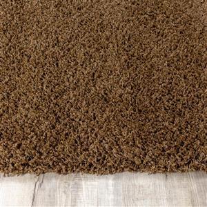 Kalora Shaggy Comfy Rug - 8' x 11' - Brown