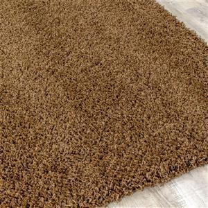 Kalora Shaggy Comfy Rug - 5' x 8' - Brown