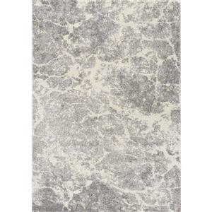 Kalora Breeze Serene Texture Rug - 5' x 8' - Grey