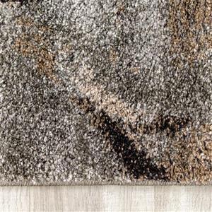 Kalora Breeze Serene Ogee Rug - 5' x 8' - Grey