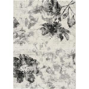Kalora Breeze Floating Flowers Rug - 5' x 8' - Cream