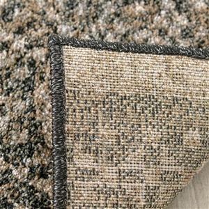 Kalora Breeze Intricate Bands Rug - 8' x 11' - Brown