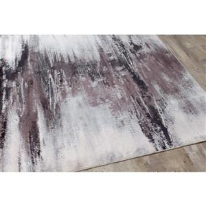 Kalora Antika Distressed Snowy Gap Rug - 7' x 10' - Grey