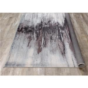 Kalora Antika Distressed Snowy Gap Rug - 5' x 8' - Grey