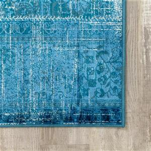 Kalora Antika Brilliant Patchwork Rug - 5' x 8' - Teal