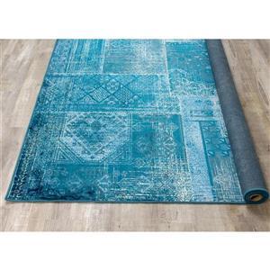 Kalora Antika Brilliant Patchwork Rug - 7' x 10' - Teal