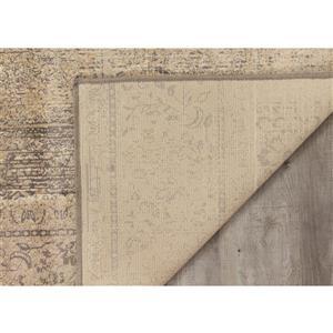 Kalora Antika Brilliant Patchwork Rug - 7' x 10' - Beige