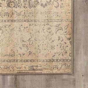 Kalora Antika Brilliant Patchwork Rug - 5' x 8' - Beige