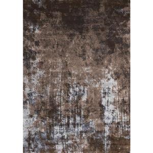Antika Acid Wash Floor Cloth Brown Area Rug