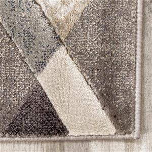 Kalora Alida Triangle Shift Rug - 5' x 8' - Cream
