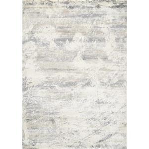 Alida Cream/Grey Distressed Fade Rug