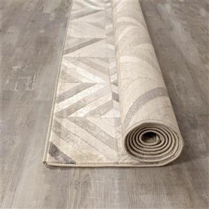 Kalora Alaska Shimmer Tiles Rug - 5' x 8' - Grey
