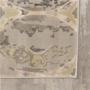 Kalora Alaska Distressed Ovals Rug - 8' x 11' - Grey