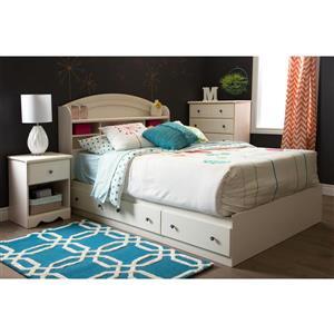 South Shore Furniture Nexera Pocono Expresso 1-Drawer Nightstand