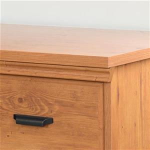South Shore Furniture Versa 2- Drawer Nightstand Country Pine