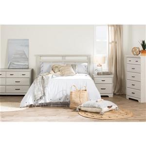 South Shore Furniture Versa 2- Drawer Nightstand Winter Oak