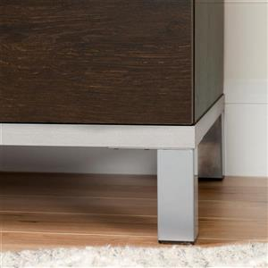 South Shore Furniture Flexible  Nightstand with Charging Station