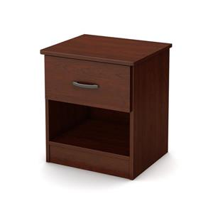 South Shore Furniture Libra 1- Drawer Royal Cherry Nightstand