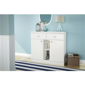 South Shore Furniture Morgan Pure White Sideboard