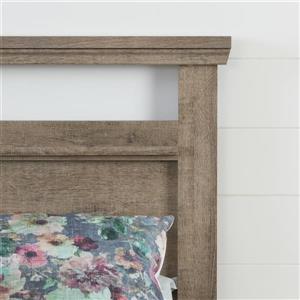 South Shore Furniture Versa Weathered Oak King Headboard