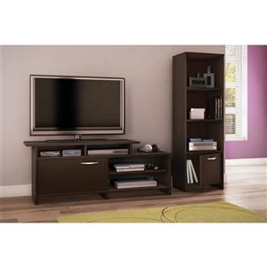 South Shore Furniture Step One Chocolate TV Stand