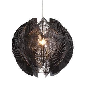 Zuo Modern Centari Pendant Light - 1-Light - 39.4-in - Black