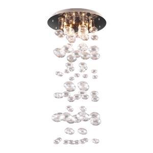 Zuo Modern Inertia Ceiling Light - 23.6-in x 49-in - Clear