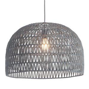 Zuo Modern Paradise Pendant Light - 1-Light - 21-in x 135.4-in - Grey