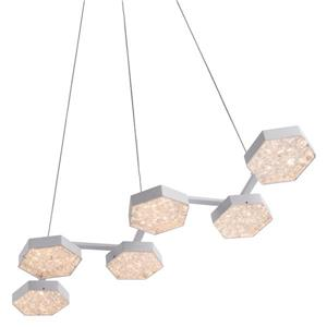 Zuo Modern Dunk Pendant Light - 29.5-in x 43.3-in - White