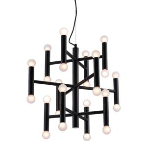 Zuo Modern Alton Pendant Light - 23.6-in x 131.9-in - Black