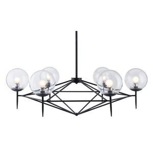 Zuo Modern Carmine Pendant Light - 43.3-in x 62.2-in - Black