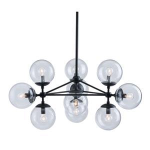 Zuo Modern Belfast Pendant Light - 29.9-in x 61.8-in - Black