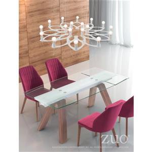 Zuo Modern Scala Pendant Light - 18-Light - 37.4-in x 42.5-in - White