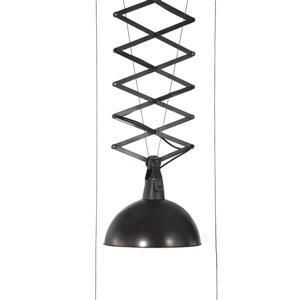 Zuo Modern Emerald Pendant Light - 60-in x 16-in - Black