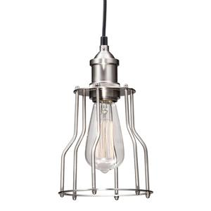 Zuo Modern Adamite Pendant Light - 5.9-in x 58.3-in - Nickel