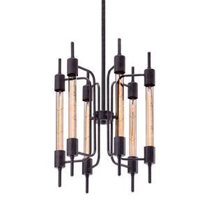 Zuo Modern Gisborne Pendant Light - 15.7-in x 60-in - Black