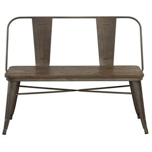 Worldwide Home Furnishings Simpli Home Acadian 48.80-in White Wood Storage Indoor Bench