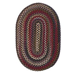 Colonial Mills Chestnut Knoll 8-ft x 11-ft Oval Amber Rose Area Rug