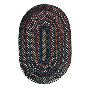 Colonial Mills Chestnut Knoll 7-ft x 9-ft Oval Baltic Blue Area Rug