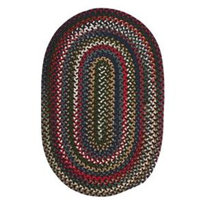 Colonial Mills Chestnut Knoll Saddle Brown 8-ft Round Multicoloured Area Rug