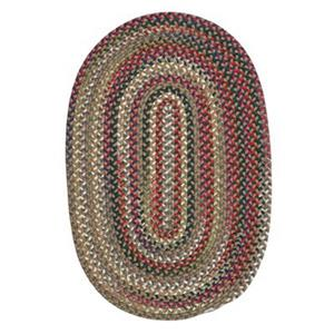 Colonial Mills Chestnut Knoll Straw Beige 6-ft Round Multicoloured Area Rug