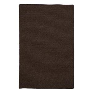 Colonial Mills Courtyard 5-ft x 8-ft Cocoa Area Rug