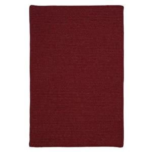 Colonial Mills Courtyard 8-ft Square Sangria Red Area Rug